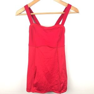 Lululemon Athletica Red Tank Top 6